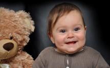 Ich und mein Teddy
